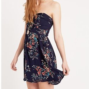Kimchi Blue Dresses - urban outfitters strapless floral dress